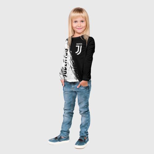 Детский лонгслив 3D JUVENTUS SPORT Фото 01