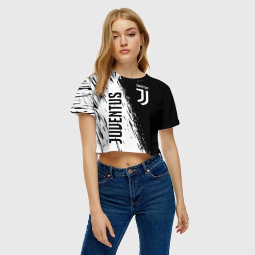 Женская футболка Cropp-top JUVENTUS SPORT Фото 01