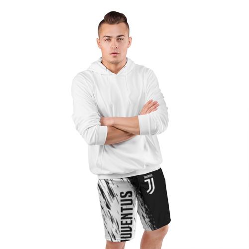 Мужские шорты 3D спортивные JUVENTUS SPORT Фото 01