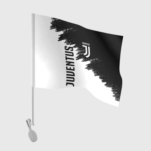Флаг для автомобиля JUVENTUS SPORT Фото 01