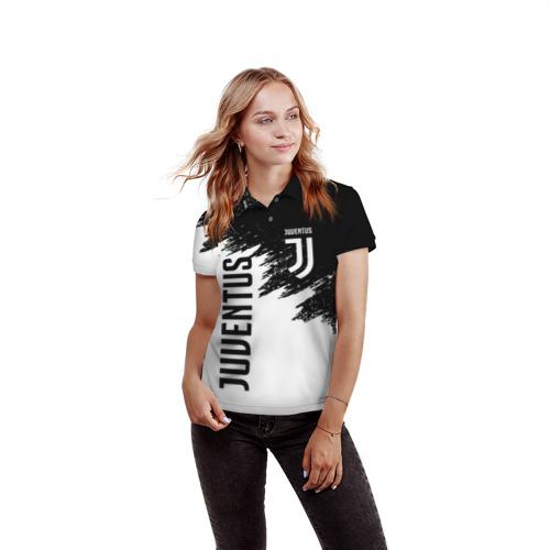 Женская рубашка поло 3D JUVENTUS SPORT Фото 01