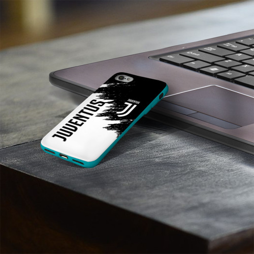 Чехол для Apple iPhone 8 силиконовый глянцевый JUVENTUS SPORT Фото 01