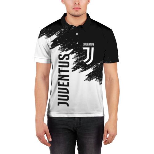 Мужская рубашка поло 3D JUVENTUS SPORT Фото 01