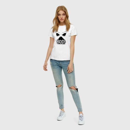 Женская футболка хлопок Бу Фото 01