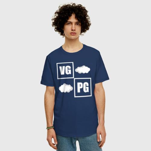 Мужская футболка хлопок Oversize VG / PG Фото 01