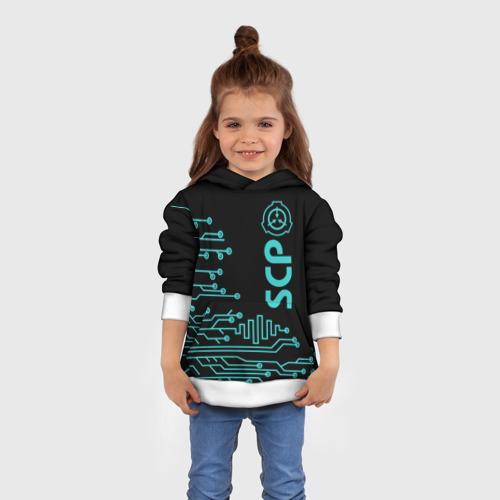 Детская толстовка 3D  Фото 01, SCP