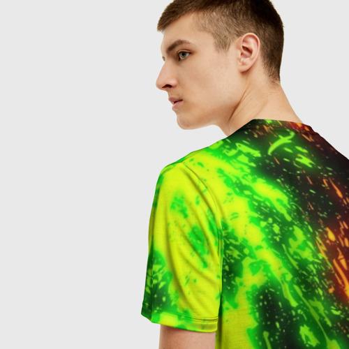 Мужская футболка 3D FORTNITE TOXIC FLAME Фото 01