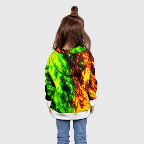 Детская толстовка 3D FORTNITE TOXIC FLAME Фото 01