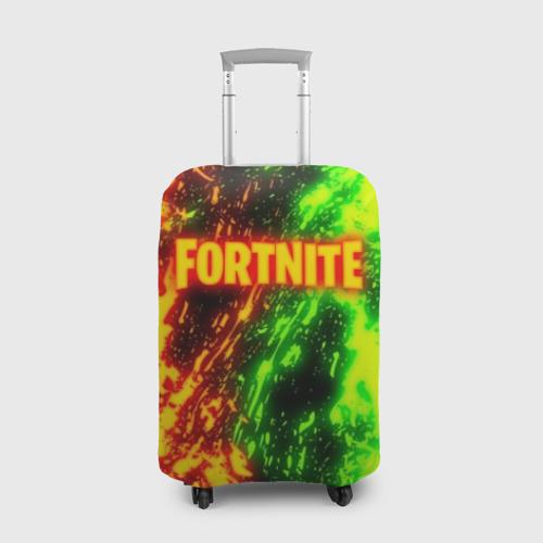 Чехол для чемодана 3D FORTNITE TOXIC FLAME Фото 01