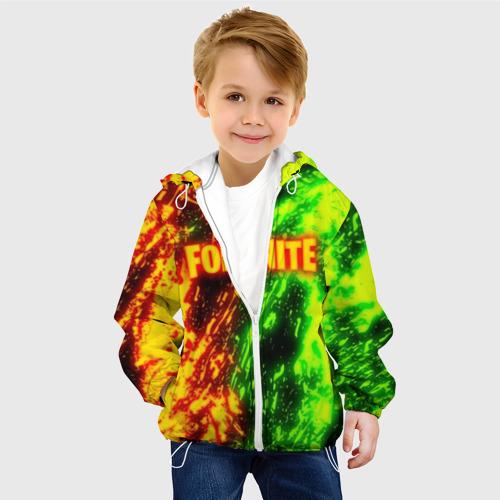 Детская куртка 3D FORTNITE TOXIC FLAME Фото 01