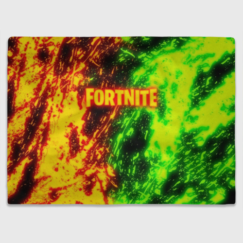 Плед 3D FORTNITE TOXIC FLAME Фото 01