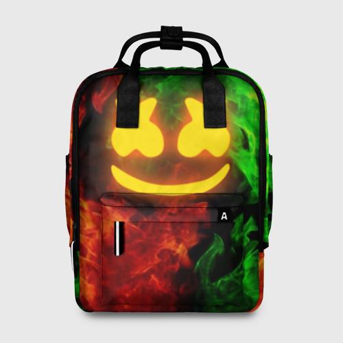 Женский рюкзак 3D MARSHMELLO TOXIC Фото 01