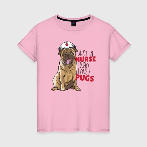 Медсестра, которая любит Pugs
