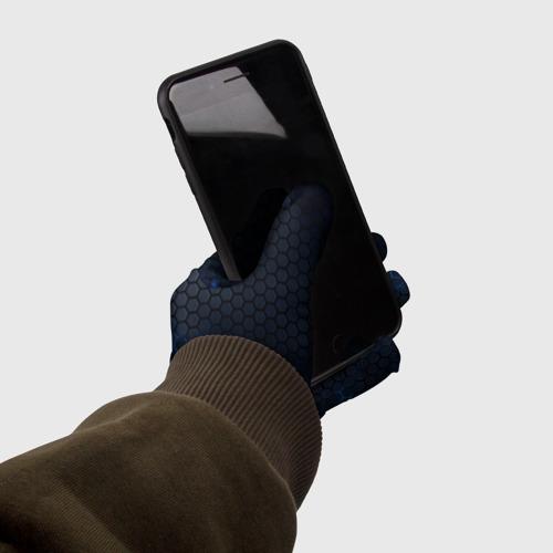 Перчатки 3D СТАЛЬНАЯ БРОНЯ Фото 01
