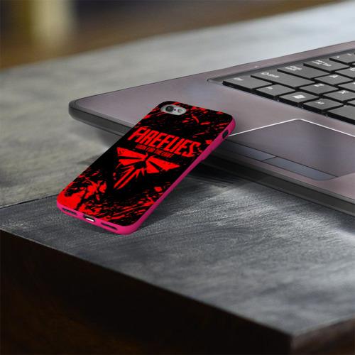 Чехол для Apple iPhone 8 силиконовый глянцевый THE LAST OF US Фото 01