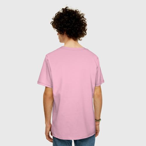 Мужская футболка хлопок Oversize Пицца и Ананас Фото 01