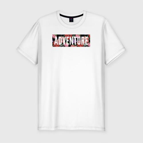 Мужская футболка премиум Adventure Фото 01