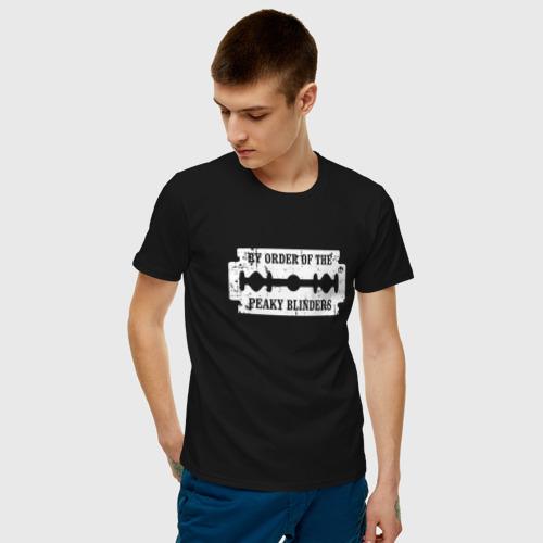 Мужская футболка хлопок  Фото 03, By Order Of The Peaky Blinders