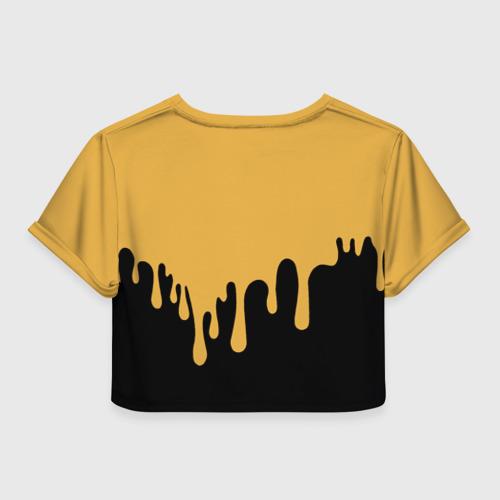 Женская футболка Crop-top 3D Bendy And The Ink Machine (37) Фото 01