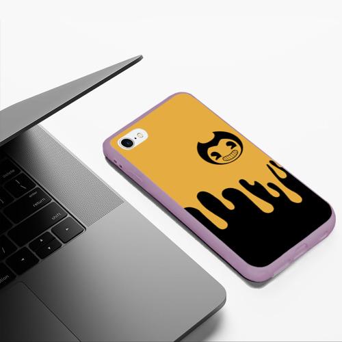 Чехол для iPhone 6Plus/6S Plus матовый Bendy And The Ink Machine (37) Фото 01