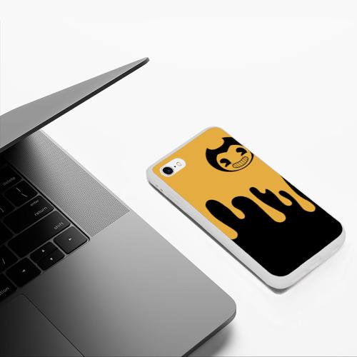 Чехол для iPhone 6/6S матовый Bendy And The Ink Machine (37) Фото 01