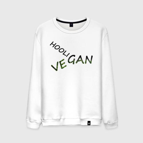 Мужской свитшот хлопок Vegan hooligan Фото 01