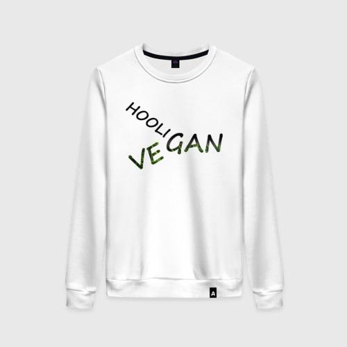 Женский свитшот хлопок Vegan hooligan Фото 01
