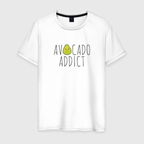 Мужская футболка хлопок Авокадозависимый Фото 01