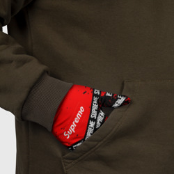 SUPREME BLACK x RED