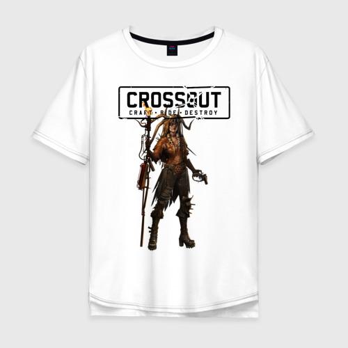 Мужская футболка хлопок Oversize Crossout Одегон