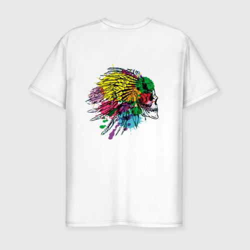 Мужская футболка хлопок Slim Chief's skull Фото 01