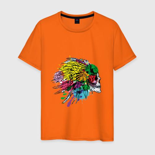 Мужская футболка хлопок Chief's skull Фото 01