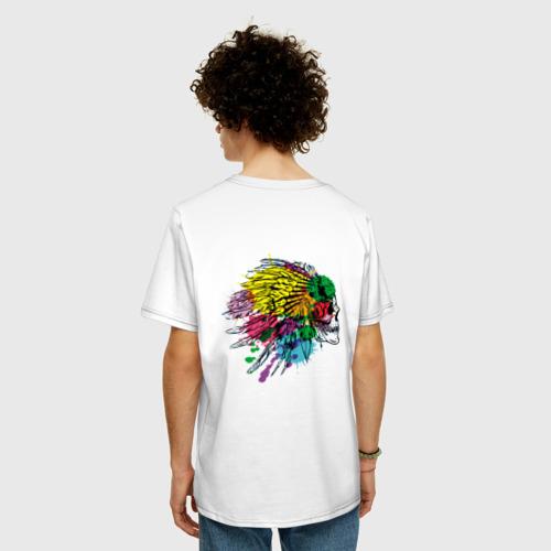 Мужская футболка хлопок Oversize Chief's skull Фото 01