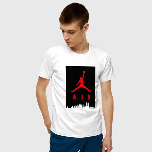 Мужская футболка хлопок MICHAEL JORDAN Фото 01