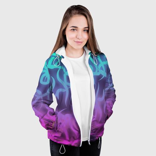 Женская куртка 3D  Фото 04, Сияние ветвей