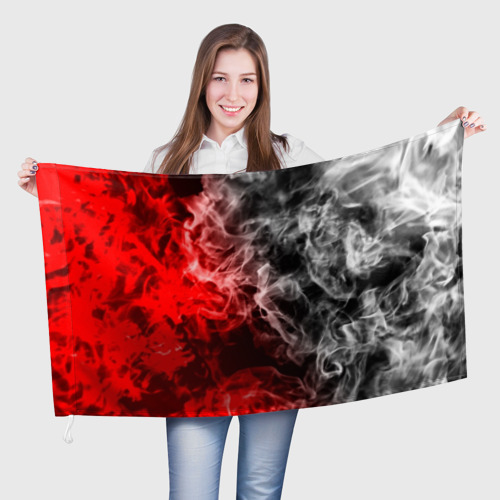 Флаг 3D БИТВА ОГНЕЙ Фото 01