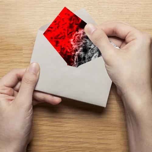 Поздравительная открытка БИТВА ОГНЕЙ Фото 01