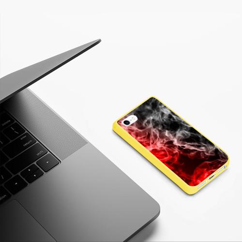 Чехол для iPhone 5/5S матовый БИТВА ОГНЕЙ Фото 01