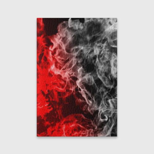 Обложка для паспорта матовая кожа БИТВА ОГНЕЙ Фото 01