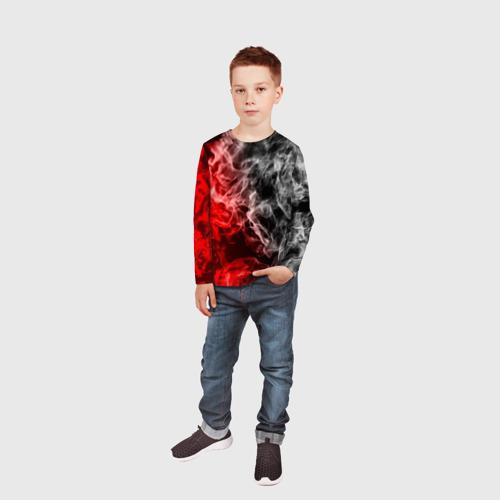Детский лонгслив 3D БИТВА ОГНЕЙ Фото 01