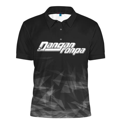 Мужская рубашка поло 3D Danganronpa (Абстракция).