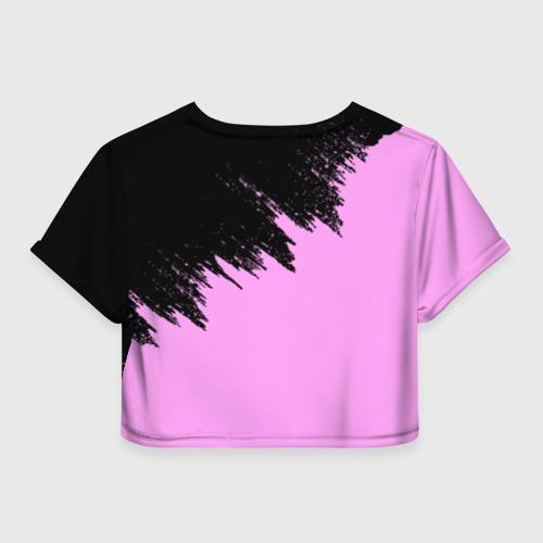 Женская футболка Crop-top 3D BTS Фото 01