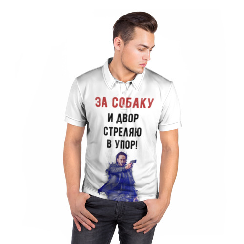 Мужская рубашка поло 3D  Фото 05, John Wick