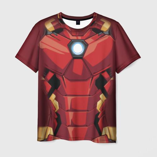 Мужская футболка 3D Iron Man costume