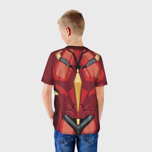 Детская футболка 3D  Фото 02, Iron Man costume