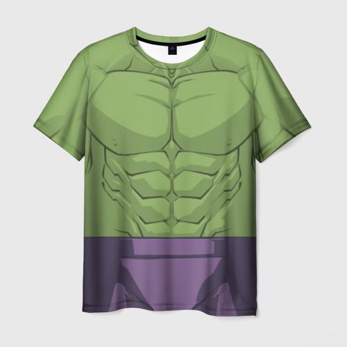 Мужская футболка 3D Hulk costume