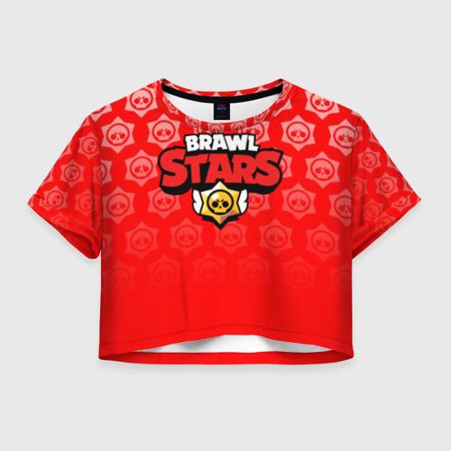 Женская футболка Cropp-top BRAWL STARS Фото 01