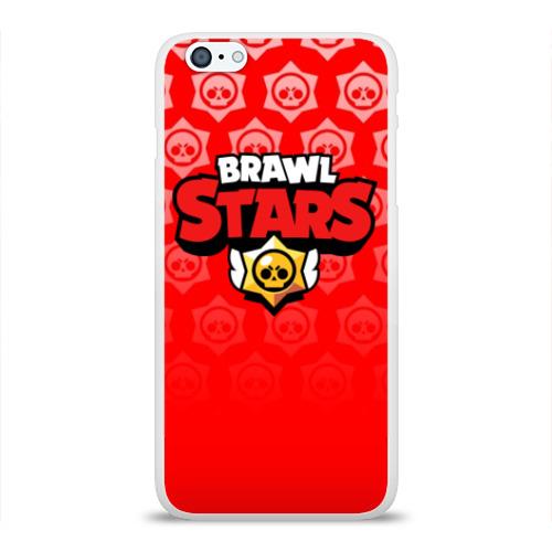 Чехол для Apple iPhone 6Plus/6SPlus силиконовый глянцевый BRAWL STARS Фото 01