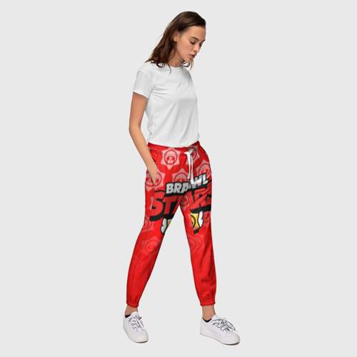 Женские брюки 3D BRAWL STARS Фото 01