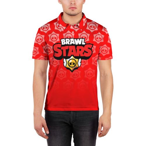 Мужская рубашка поло 3D BRAWL STARS Фото 01